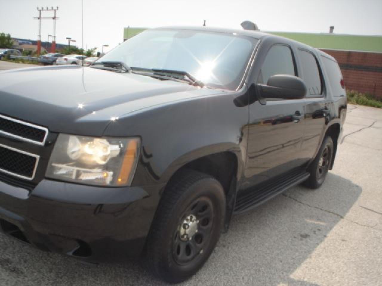 2009 Chevrolet Tahoe blk/blk ex police