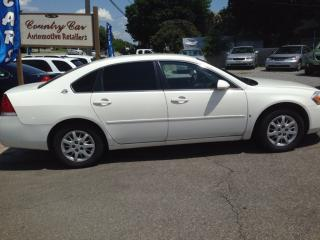 Used 2007 Chevrolet Impala LS LOW KMS, CLEAN AND CERTIFIED - Financing Avail for sale in Bradford, ON