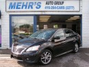 Used 2013 Nissan Sentra SR 1.8L LOADED PUSH 2 START NO ACCIDENT ONE OWNER for sale in Scarborough, ON