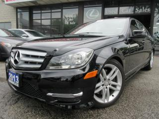 Used 2013 Mercedes-Benz C 300 4MATIC-LEATHER-SUNROOF-LOW KM for sale in Scarborough, ON