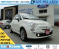 Used 2013 Fiat 500 Lounge | SUN ROOF | HEATED LEATHER SEATS | for sale in Brantford, ON