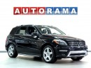 Used 2014 Mercedes-Benz ML 350 NAVI LEATHER SUNROOF BACKUP CAM 4WD for sale in North York, ON