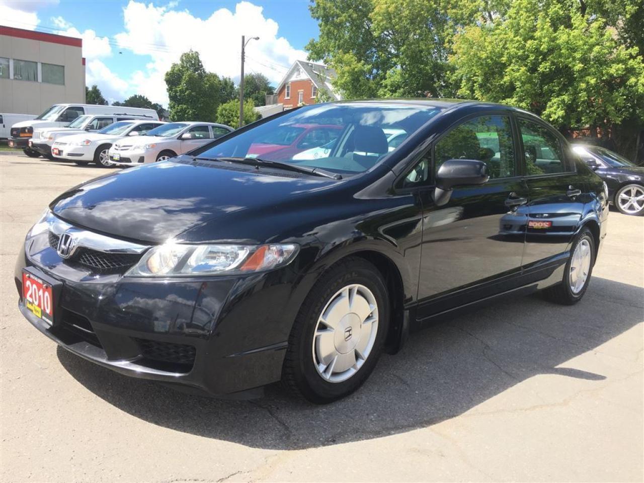 2010 Honda Civic DX-G/STD/LOW, LOW KMS!