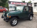 Used 2001 Jeep TJ Sport/4.0L Automatic/2 Tops/Certified for sale in Scarborough, ON