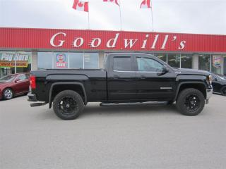 Used 2014 GMC Sierra 1500 SLE! Double Cab!  BLUETOOTH! for sale in Aylmer, ON