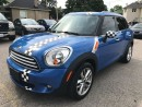 Used 2011 MINI Cooper Countryman SAFETY & WARRANTY INCLUDED for sale in Cambridge, ON