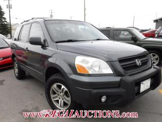 Used 2005 Honda PILOT EX 4D UTILITY 4WD SEVEN PASSENGER for sale in Calgary, AB