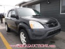 Used 2003 Honda CR-V EX 4D UTILITY 4WD for sale in Calgary, AB
