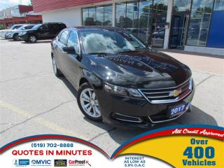 Used 2017 Chevrolet Impala 1LT | BLUETOOTH | REDESIGNED BODY | SAT RADIO for sale in London, ON