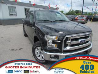 Used 2015 Ford F-150 XLT   4X4   ECOBOOST   SUPERCREW for sale in London, ON