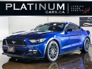 Used 2015 Ford Mustang GT V8 435HP, 6SPD MANUAL, HEATED SEATS, CAMERA for sale in North York, ON