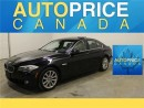 Used 2013 BMW 5 Series X-DRIVE NAVIGATION MOONROOF LEATHER for sale in Mississauga, ON