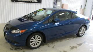 Used 2012 Honda Civic EX-L  Only 45039 km Sunroof leather for sale in Chatsworth, ON