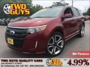 Used 2014 Ford Edge Sport 3.7L AWD Leather Navigation Moon Roof for sale in St Catharines, ON