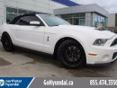 Used 2012 Ford Mustang Shelby GT500 GT500 CONVERTIBLE NAVIGATION for sale in Edmonton, AB