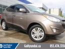 Used 2013 Hyundai Tucson LEATHER BOLSTERING AWD ALLOYS FOG LIGHTS for sale in Edmonton, AB