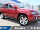 Used 2016 Jeep Compass HIGH ALTITUDE LEATHER ROOF for sale in Edmonton, AB