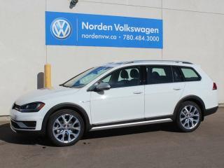 New 2017 Volkswagen Golf Alltrack Alltrack for sale in Edmonton, AB