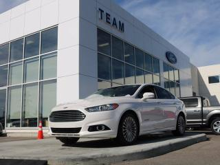 Used 2014 Ford Fusion Hybrid Titanium, 2.0L Hybrid, Roof, Leather, Nav, One Owner for sale in Edmonton, AB