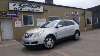 Used 2013 Cadillac SRX 1 OWNER OFF LEASE-FACTORY WARRANTY-TOUCH SCREEN for sale in Tilbury, ON