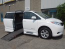 Used 2014 Toyota Sienna LE- Wheelchair Accessible Side Entry Conversion for sale in London, ON