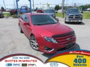 Used 2012 Ford Fusion SE | ROOF | STYLIOSH DESIGN | LOW KM! for sale in London, ON