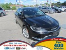 Used 2015 Chrysler 200 LIMITED | SAT RADIO | BACKUP CAM | NAV for sale in London, ON