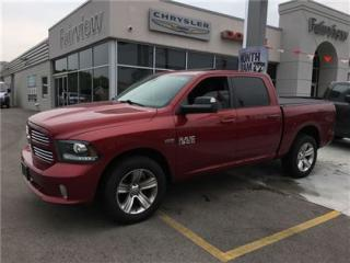 Used 2014 Dodge Ram 1500 Sport 1 Owner Accident Free for sale in Burlington, ON