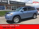 Used 2009 Toyota Highlander Sport  PRISTINE ! 4X4 7-PASSENGER for sale in St Catharines, ON