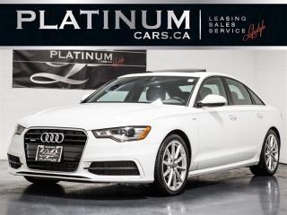 Used 2015 Audi A6 QUATTRO, S-LINE, NAVIGATION, SUNROOF, Heated Lthr for sale in Toronto, ON