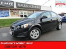 Used 2016 Chevrolet Sonic LT  CAMERA, HEATED SEATS, SCREEN, REMOTE, BLUETOOTH for sale in St Catharines, ON
