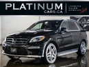 Used 2013 Mercedes-Benz ML-Class ML63 AMG 550HP, NAVI for sale in North York, ON