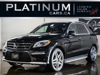 Used 2013 Mercedes-Benz ML-Class ML63 AMG, PERFORMANC for sale in North York, ON