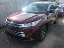 New 2017 Toyota HIGHLANDER LE V6 AWD BASE for sale in Kentville, NS