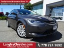 Used 2016 Chrysler 200 LX w/ POWER GROUP & AIR CONDITIONING for sale in Surrey, BC