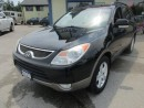 Used 2008 Hyundai Veracruz LOADED LIMITED EDITION 7 PASSENGER 3.8L - V6.. AWD.. BENCH & 3RD ROW.. LEATHER.. HEATED SEATS.. POWER SUNROOF.. for sale in Bradford, ON