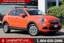 Used 2016 Fiat 500X Pop LOW KM'S! NO ACCIDENTS for sale in Surrey, BC