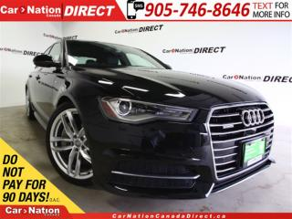 Used 2016 Audi A6 3.0T Technik|S LINE | AWD| NAVI| SUNROOF| for sale in Burlington, ON