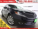 Used 2015 Lincoln MKS | AWD| LEATHER| DUAL SUNROOF| NAV-READY| for sale in Burlington, ON