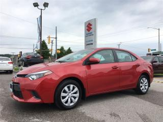 Used 2015 Toyota Corolla LE ~RearView Camera ~Heated Seats ~Solid Value for sale in Barrie, ON
