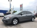 Used 2013 Honda Civic LX ~Heated Seats ~Tinted ~Honda Quality for sale in Barrie, ON