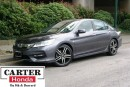 Used 2016 Honda Accord Touring + LOW KMS + LOCAL + NAVI + CERTIFIED! for sale in Vancouver, BC