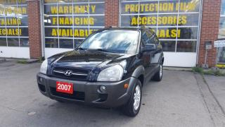Used 2007 Hyundai Tucson GL AWD for sale in Oakville, ON