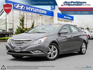 Used 2013 Hyundai Sonata Limited w/Nav for sale in Surrey, BC