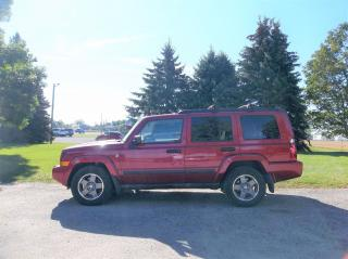 Used 2006 Jeep Commander 7 Passenger for sale in Thornton, ON