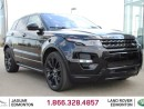 Used 2015 Land Rover Evoque Dynamic Black Pack - CPO 6yr/160000kms manufacturer warranty included until Novemeber 27, 2020! CPO rates starting at 2.9%! Local Alberta Trade In | No Accidents | Navigation | Surround Camera System | Parking Sensors | Reverse Traffic/Blind Spot/Closing  for sale in Edmonton, AB