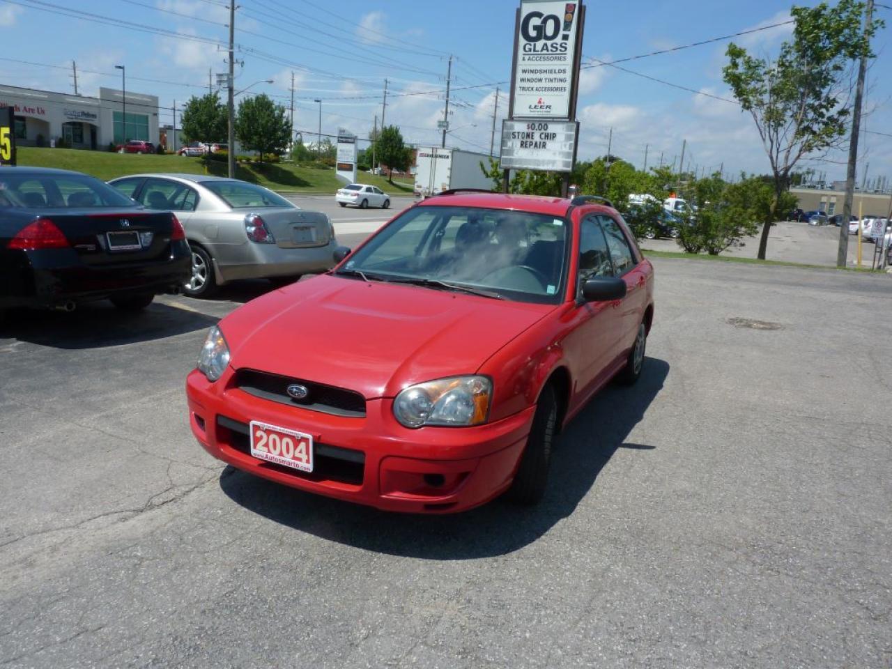 2004 Subaru Impreza TS,ALL WHEEL DRIVE,LOW MILEAGE