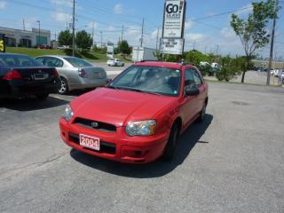 Used 2004 Subaru Impreza TS,ALL WHEEL DRIVE,LOW MILEAGE for sale in Kitchener, ON