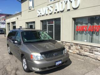 Used 2004 Ford Freestar LIMITED for sale in Hamilton, ON