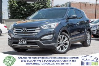 Used 2013 Hyundai Santa Fe Sport AWD PanoRoof Leather BackupCam for sale in Scarborough, ON